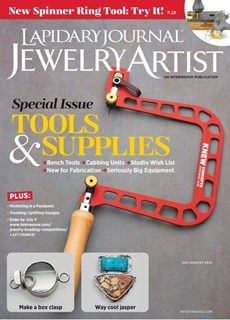 Lapidary Journal Jewelry Artist | 7/2020 Cover