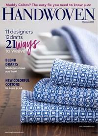 Handwoven Magazine | 5/2020 Cover