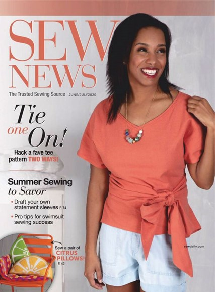 Sew News Cover - 6/1/2020