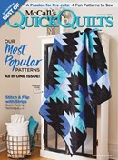 McCall's Quick Quilts | 6/2020 Cover