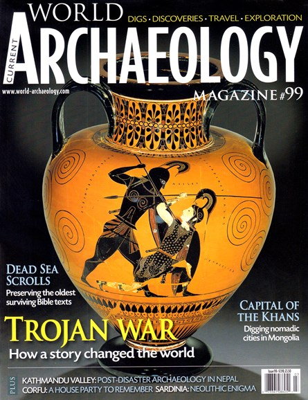 Current World Archaeology Cover - 2/1/2020