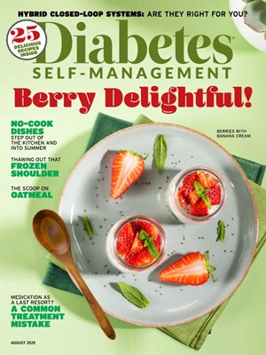 Diabetes Self Management Magazine | 7/2020 Cover