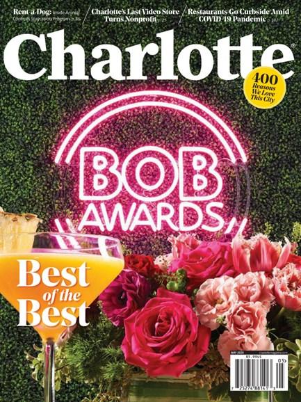 Charlotte Magazine Cover - 5/1/2020