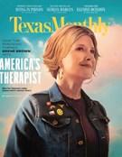Texas Monthly Magazine 6/1/2020