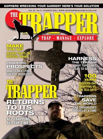 Trapper & Predator Caller   6/2020 Cover