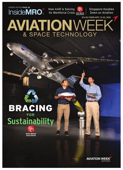 Aviation Week & Space Technology Cover - 2/10/2020