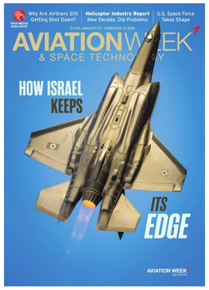 Aviation Week & Space Technology Cover - 1/27/2020