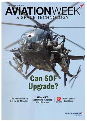 Aviation Week & Space Technology Magazine | 6/1/2020 Cover