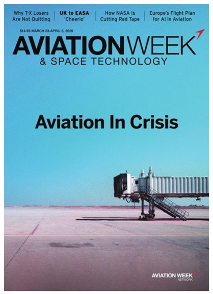 Aviation Week & Space Technology Cover - 3/23/2020