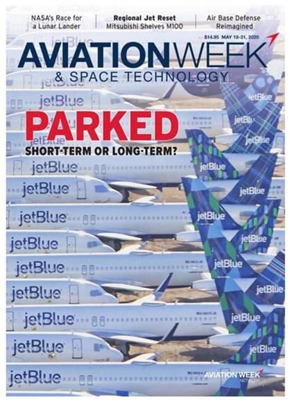 Aviation Week & Space Technology Cover - 5/18/2020
