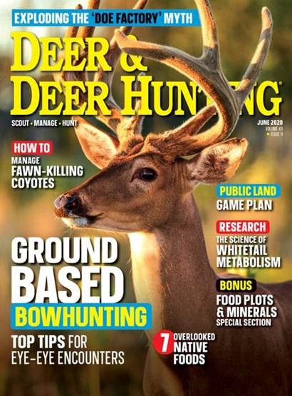 Deer & Deer Hunting | 6/2020 Cover