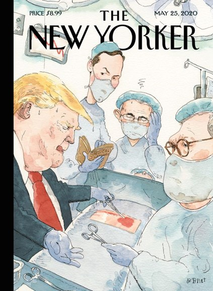 The New Yorker Cover - 5/25/2020
