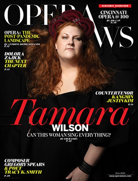 Opera News Cover - 6/1/2020