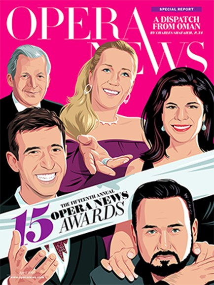 Opera News Cover - 4/1/2020