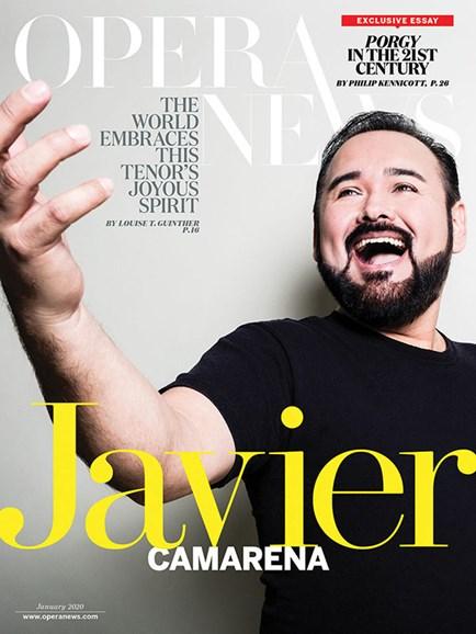Opera News Cover - 1/1/2020