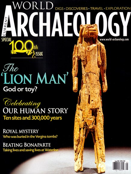 Current World Archaeology Cover - 4/1/2020