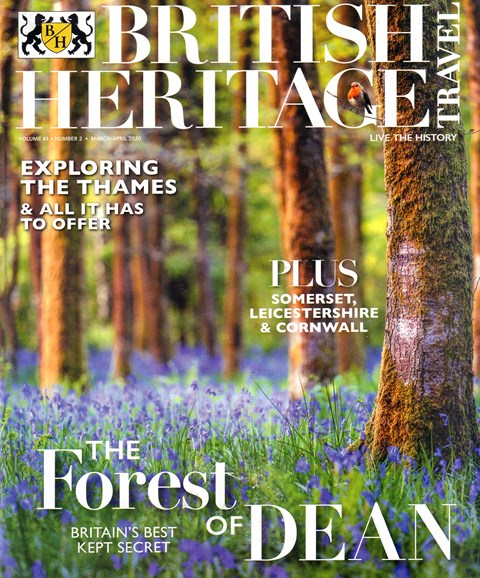 British Heritage Travel Cover - 3/1/2020