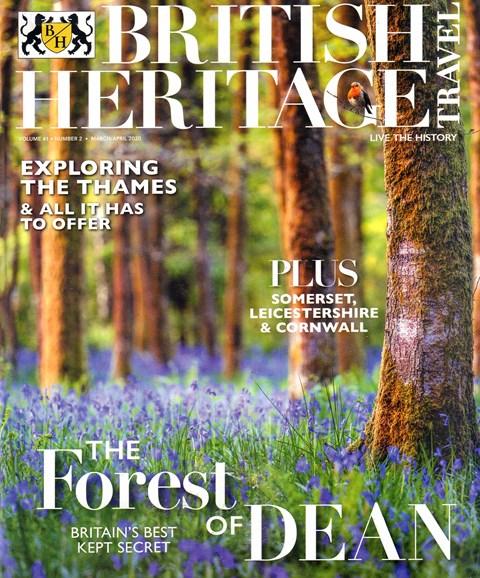 British Heritage Travel Cover - 3/1/2020