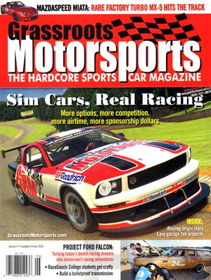 Grassroots Motorsports Magazine | 6/2020 Cover