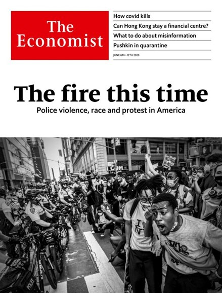 The Economist Cover - 6/6/2020