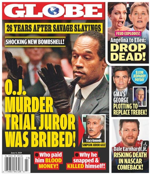 Globe Cover - 6/8/2020