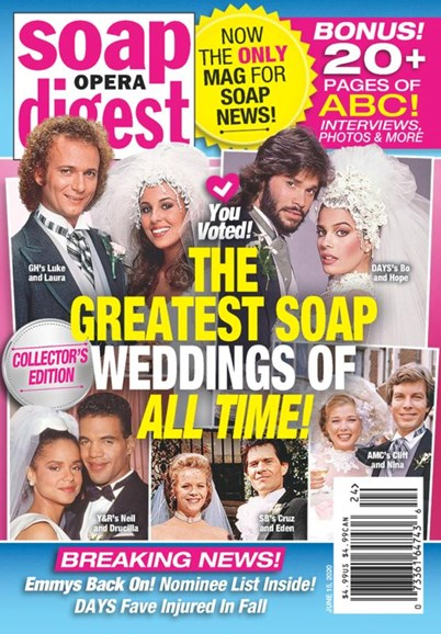Soap Opera Digest Cover - 6/15/2020