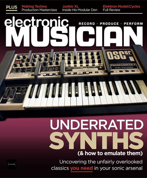 Electronic Musician Cover - 7/1/2020
