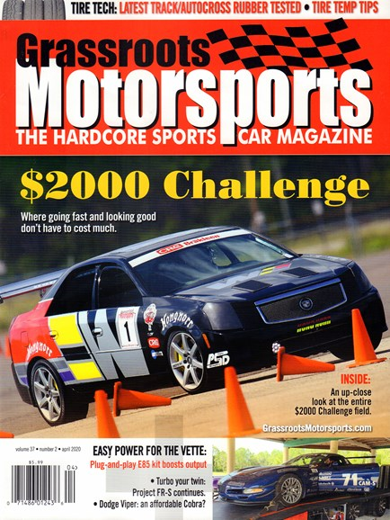 Grassroots Motorsports Cover - 4/1/2020