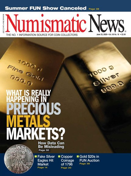 Numismatic News Cover - 6/23/2020