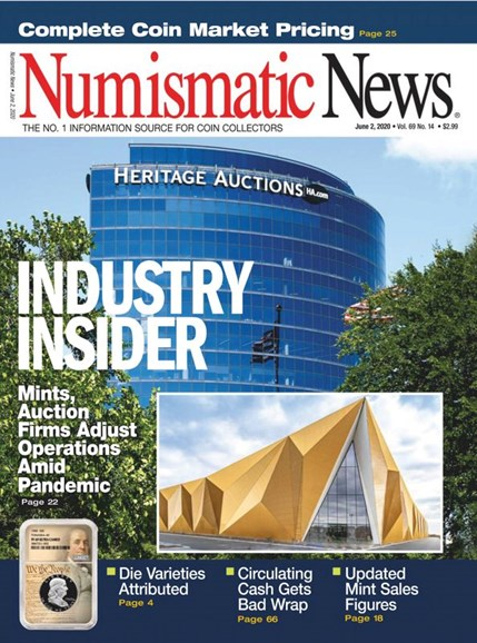 Numismatic News Cover - 6/2/2020
