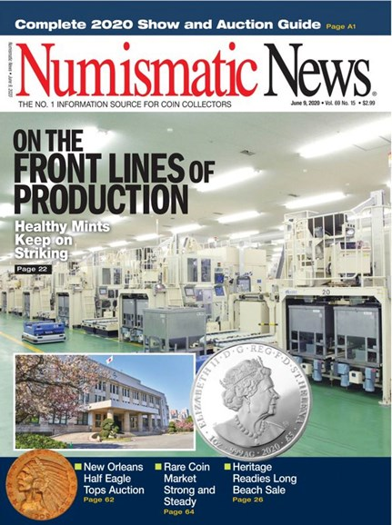 Numismatic News Cover - 6/9/2020