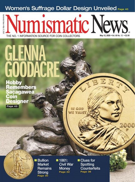 Numismatic News Cover - 5/12/2020