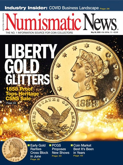Numismatic News Cover - 5/26/2020