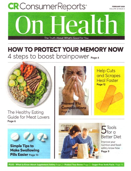 Consumer Reports On Health Cover - 2/1/2020