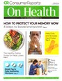 Consumer Reports On Health Magazine | 2/2020 Cover