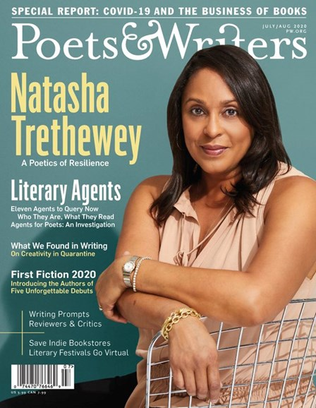 Poets & Writers Cover - 7/1/2020