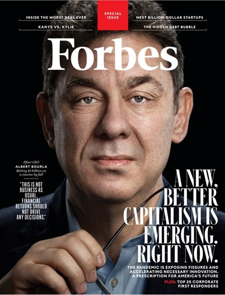 Forbes Cover - 6/1/2020