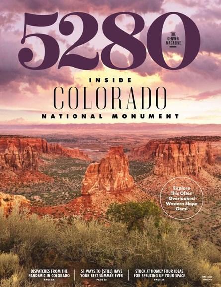 5280 Magazine Cover - 6/1/2020