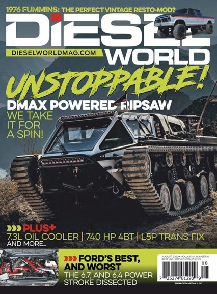 Diesel World Cover - 8/1/2020