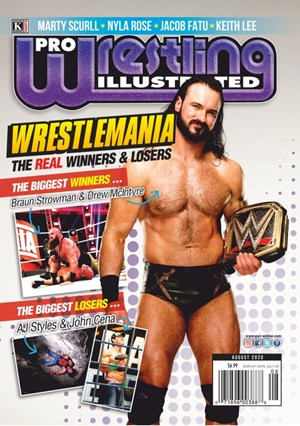 Pro Wrestling Illustrated | 8/2020 Cover