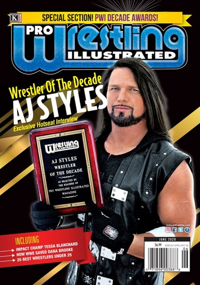 Pro Wrestling Illustrated Cover - 6/1/2020