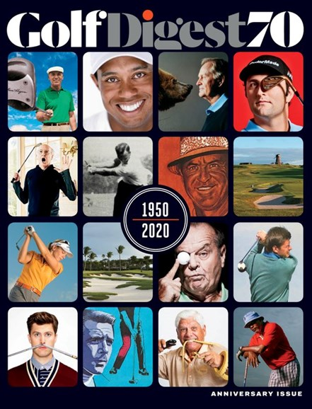 Golf Digest Cover - 7/1/2020
