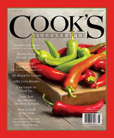 Cook's Illustrated Cover - 7/1/2020
