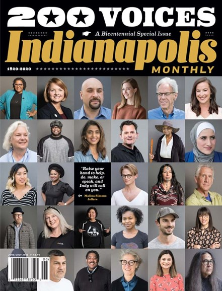 Indianapolis Monthly Cover - 6/1/2020