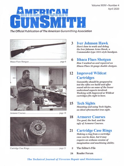 American Gunsmith Cover - 4/1/2020