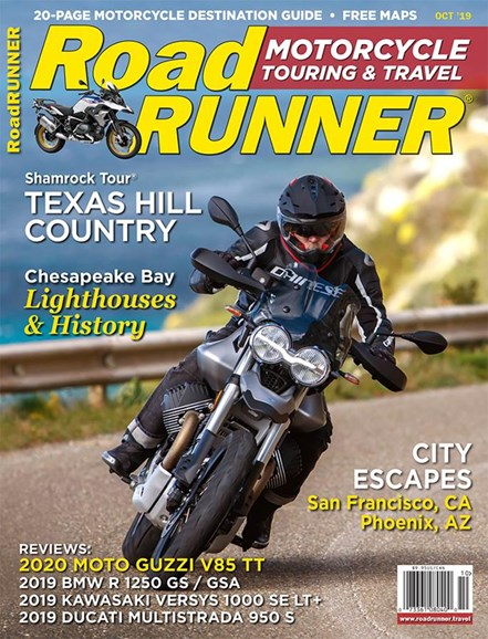 Road RUNNER Motorcycle & Touring Cover - 10/1/2019