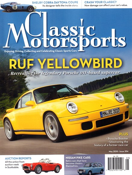 Classic Motorsports Cover - 5/1/2020