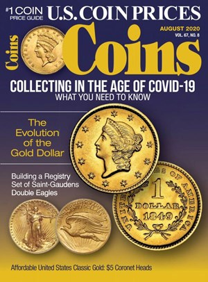 Coins Magazine | 8/2020 Cover