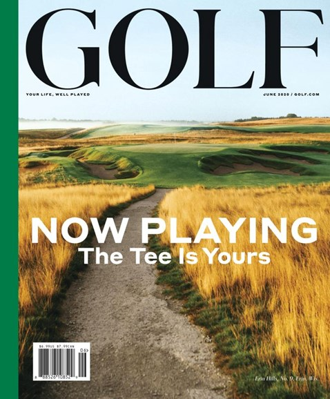Golf Magazine Cover - 6/1/2020