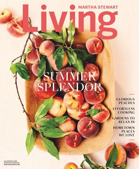 Martha Stewart Living Cover - 7/1/2020